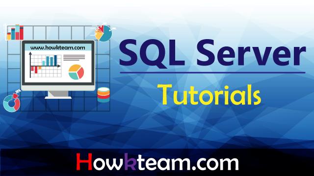 Sử dụng SQL server