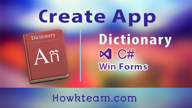 Lập trình từ điển nói với C# Winform