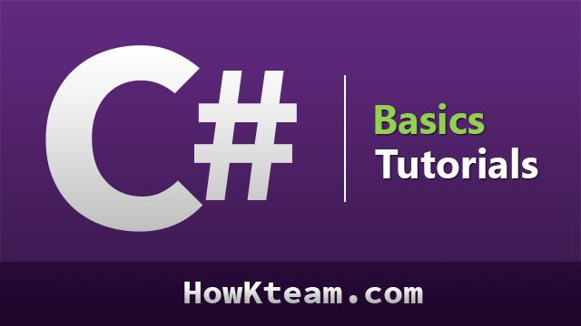 Khóa học lập trình C# căn bản