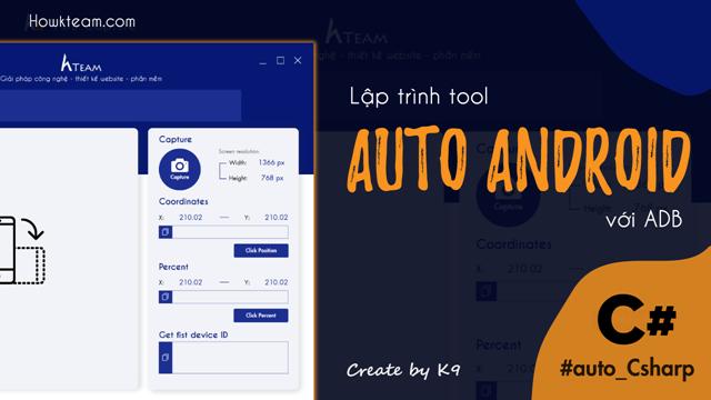 Lập trình Tool Auto Android với ADB