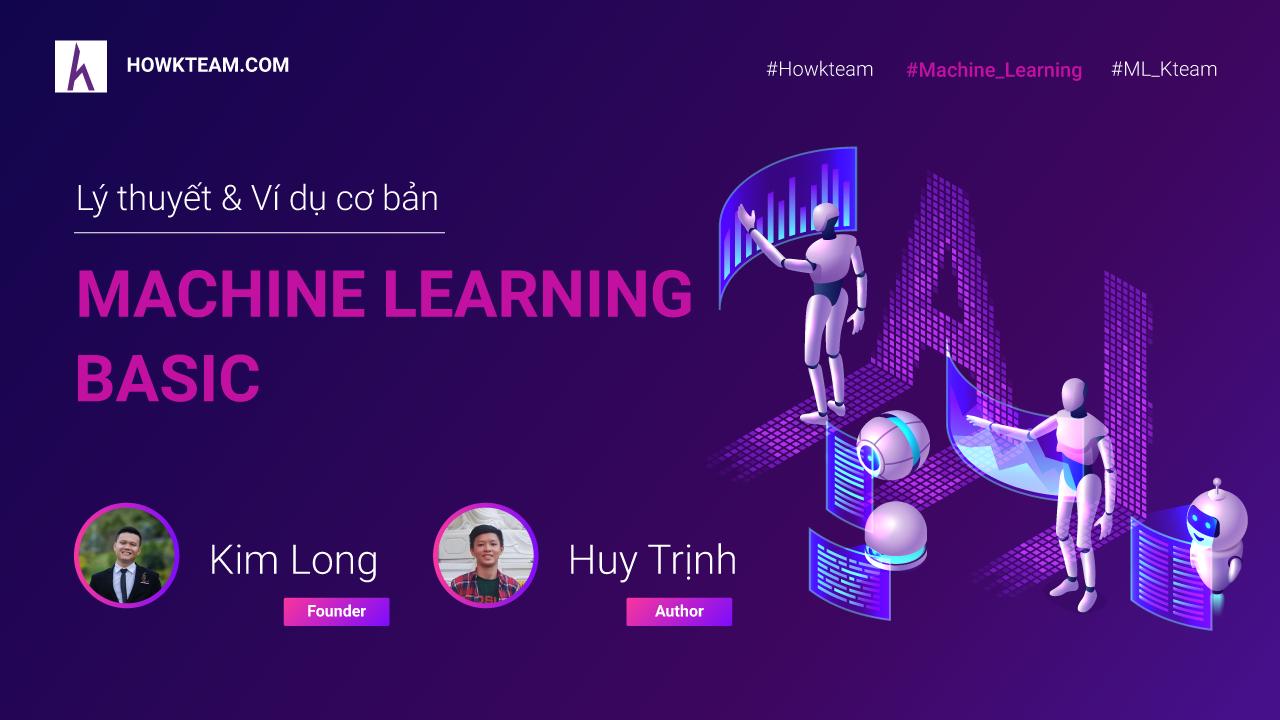 Machine Learning cơ bản với NumPy