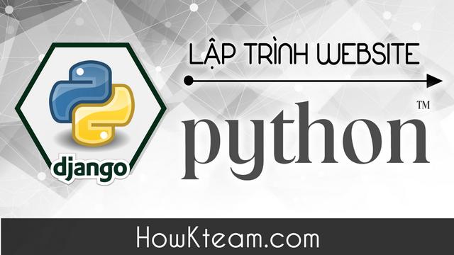 Lập trình web với Python bằng Django