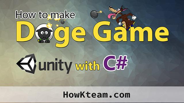 Lập trình Doge game với Unity3D