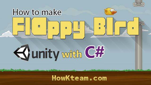 Lập trình game Flappy bird với unity3D