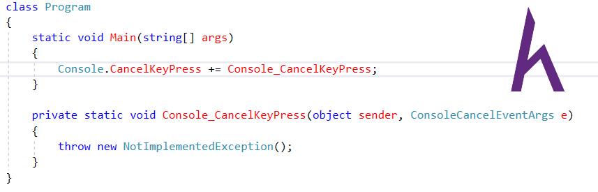 Event chuẩn .Net trong C#
