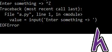 Nhập xuất trong Python - Hàm nhập
