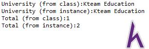 Từ khóa static trong lập trình hướng đối tượng